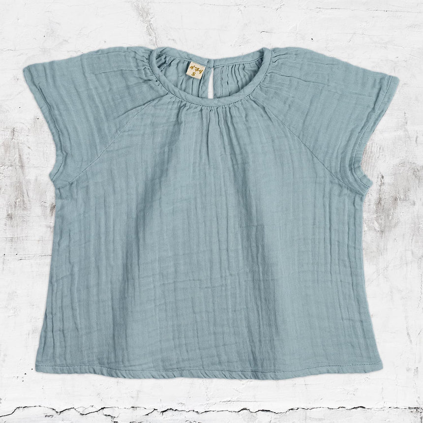Numero 74 - Clara Top - Baby - Sweet Blue - S046