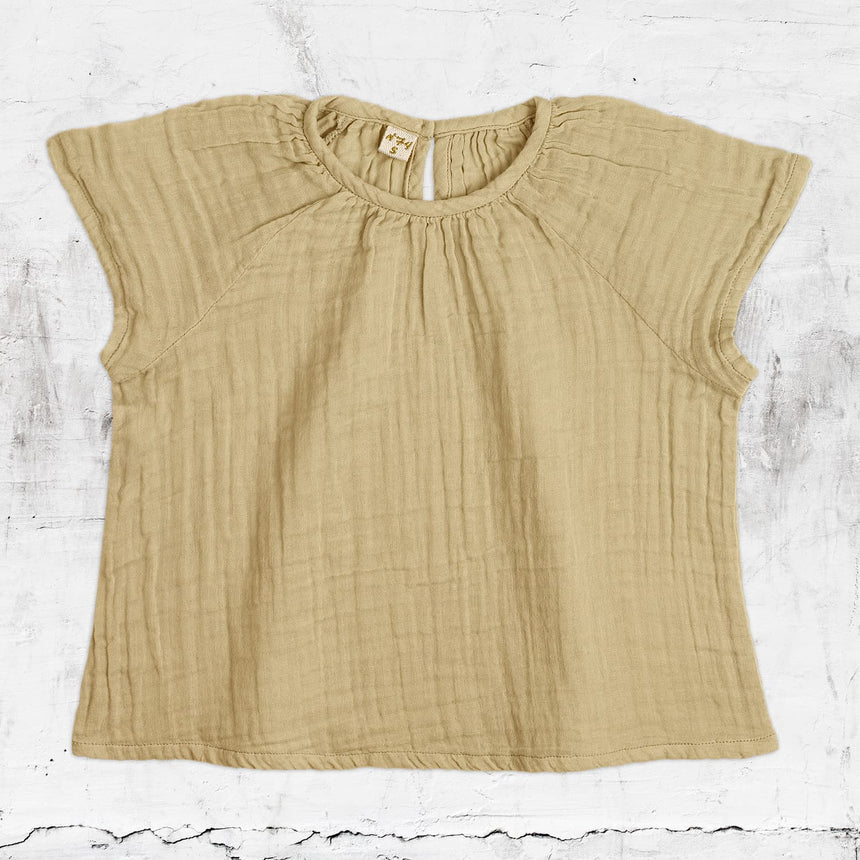 Numero 74 - Clara Top - Baby - Mellow Yellow - S048