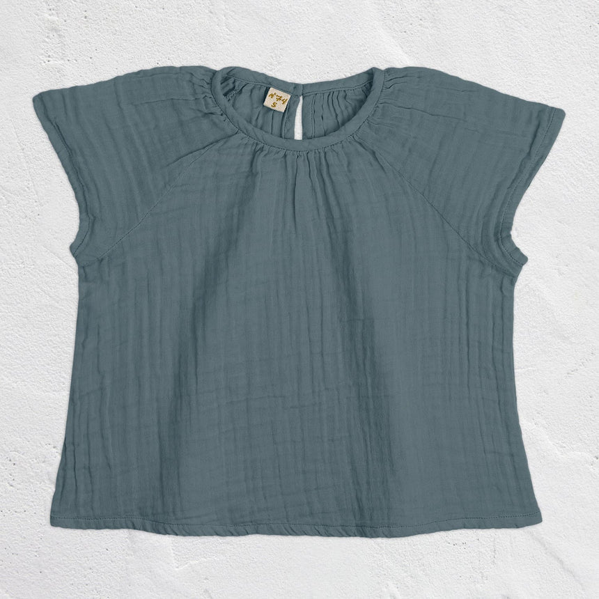 Numero 74 - Clara Top - Kids - Ice Blue - S032