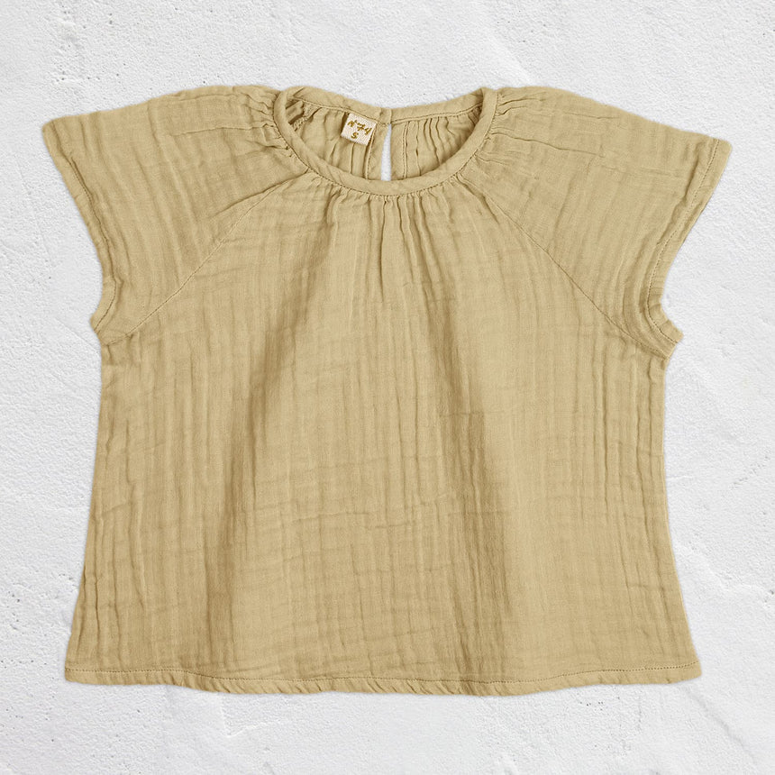 Numero 74 - Clara Top - Kids - Mellow Yellow - S048