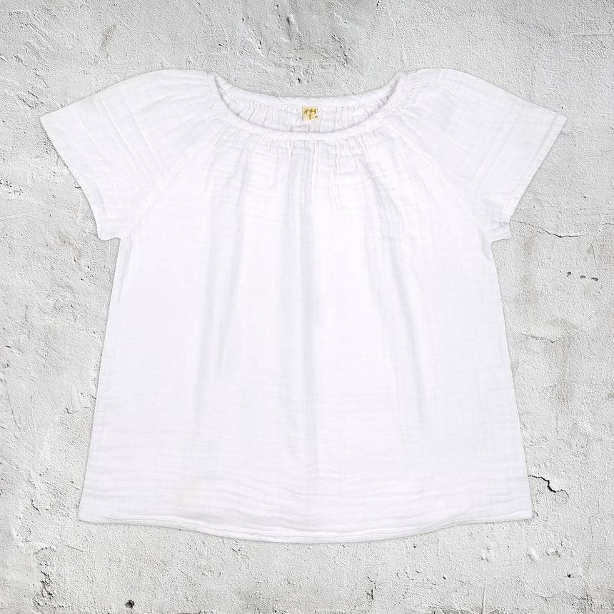 Numero 74 - Clara Top  - Women - White - S001