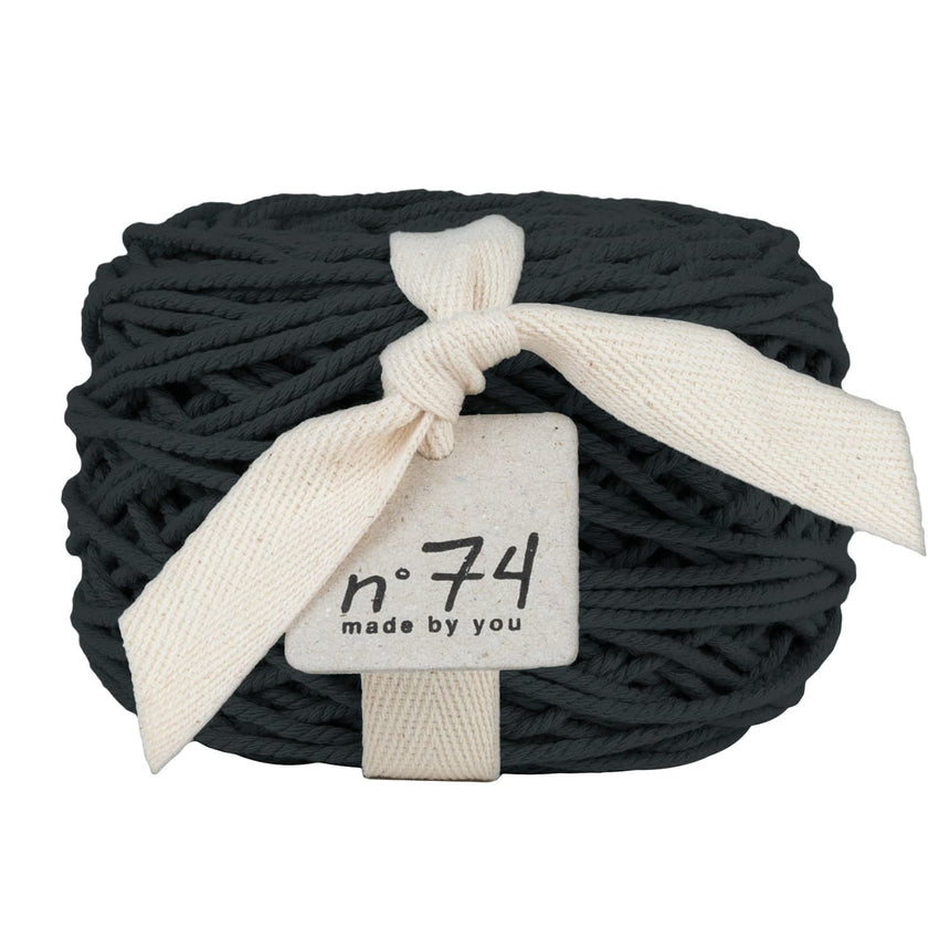 Numero 74 - Cotton Rope 3.5mm - Dark gey - S021