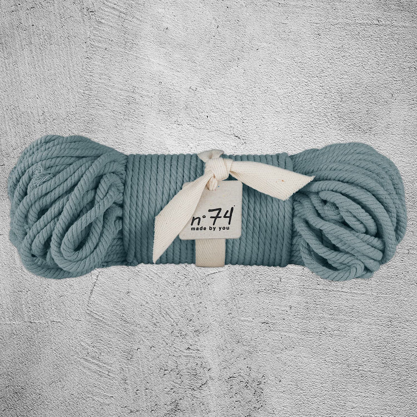 Numero 74 - Cotton Rope 7mm - Ice blue - S032