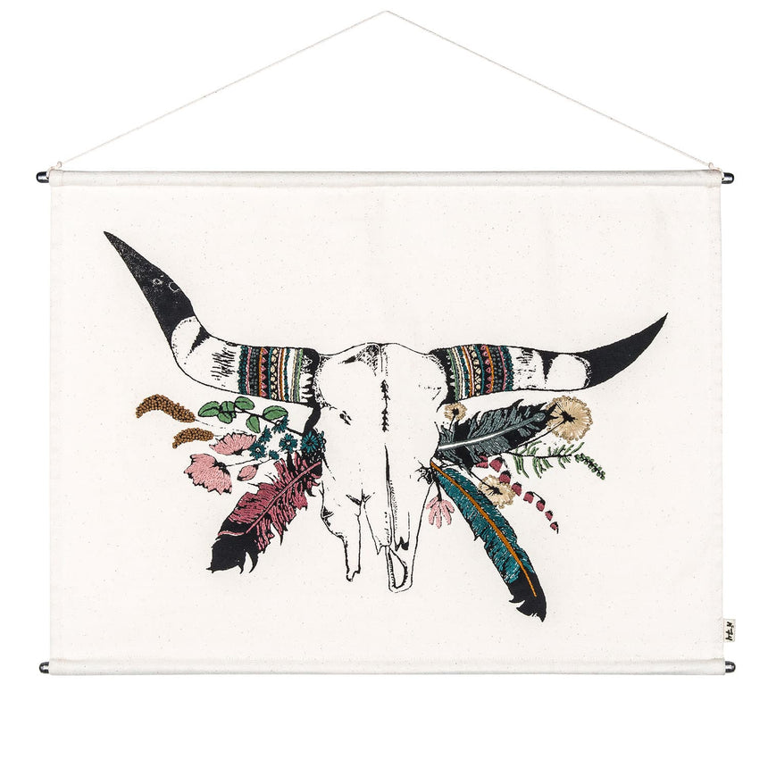 Numero 74 - Crazy Buffalo Poster - Natural - S000