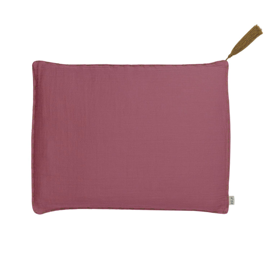 Numero 74 - Cushion Cover Plain - 45x45 cm - Baobab Rose - S042