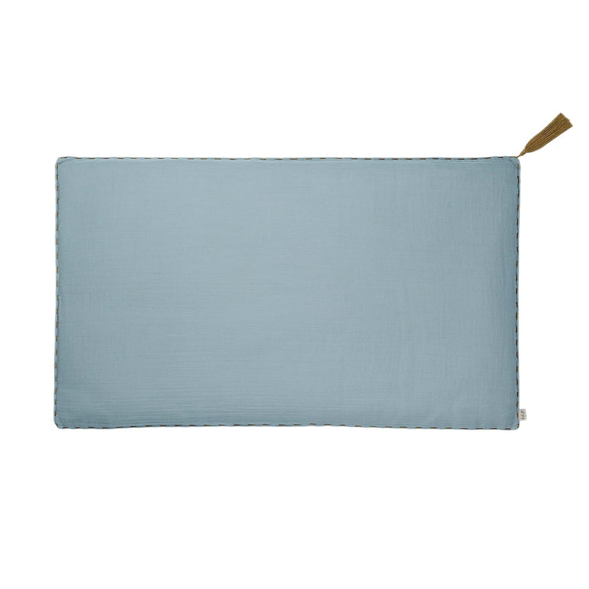 Numero 74 - Cushion Cover Plain - 45x45 cm - Sweet Blue - S046
