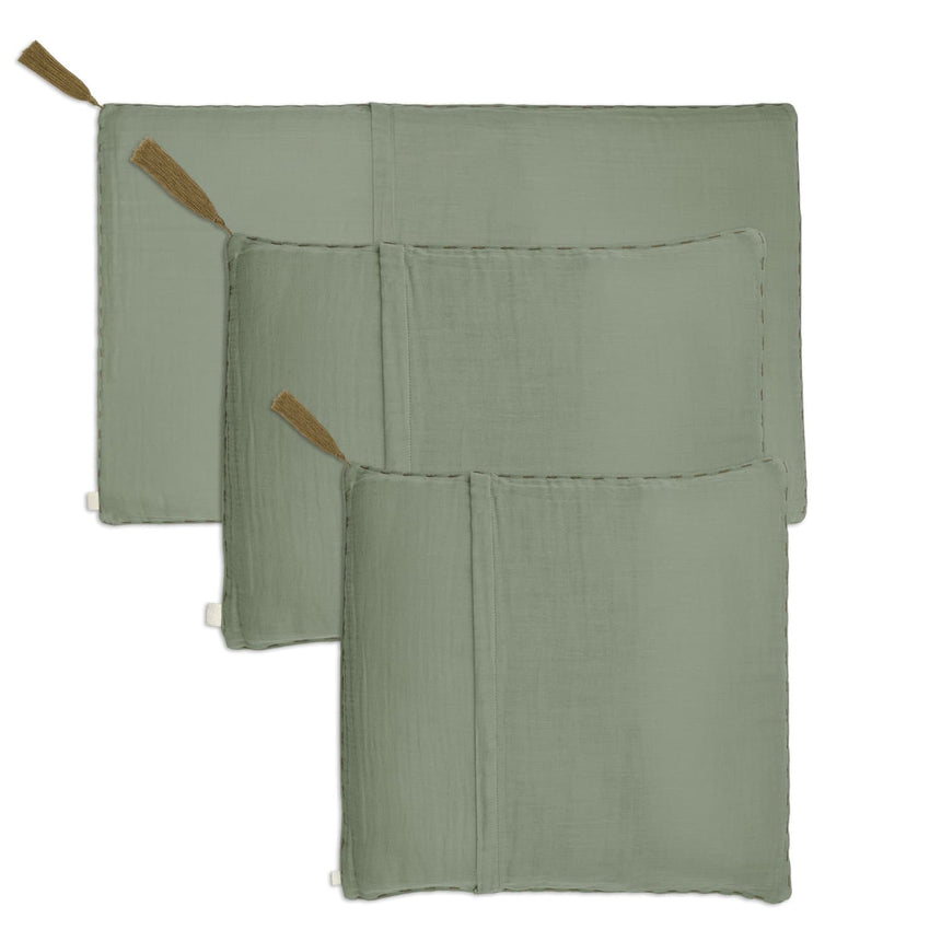 Numero 74 - Cushion Cover Plain - 45x45 cm - Sage Green - S049