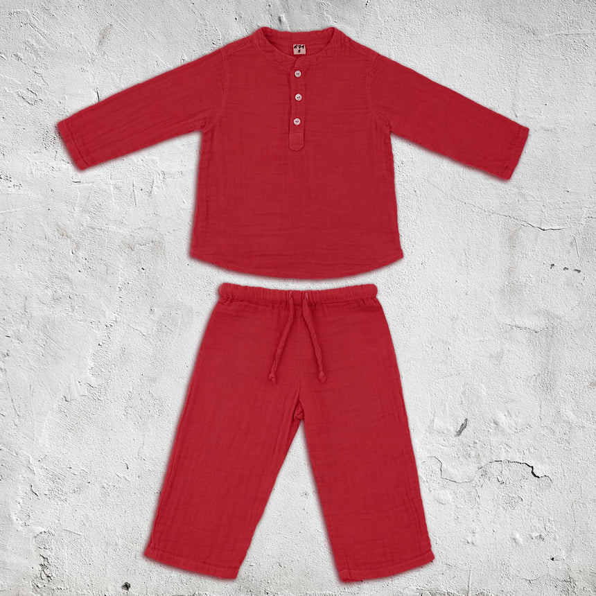 Numero 74 - Dan Suit - Baby - Ruby Red - S027