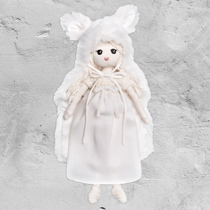 Numero 74 - Stella Moon Girl Doll - White - S001