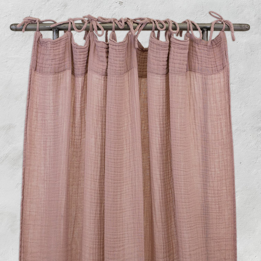 Numero 74 - Flat Curtain - Dusty Pink - S007