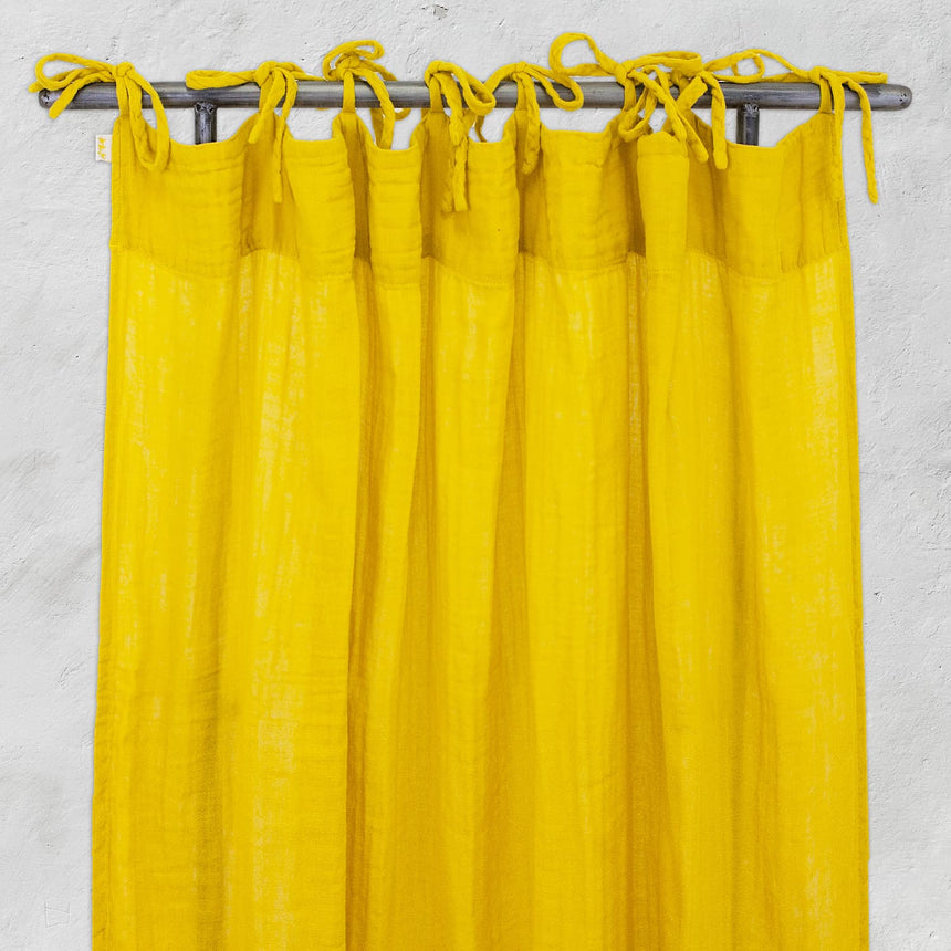Numero 74 - Flat Curtain - Sunflower Yellow - S028