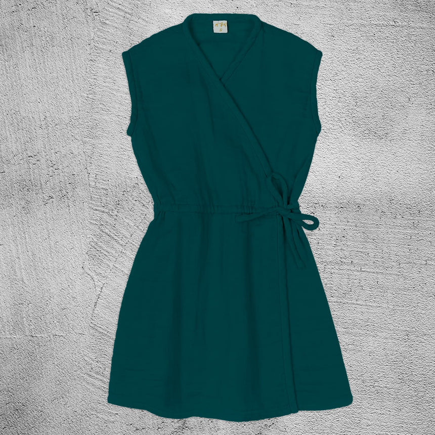 Numero 74 - Grace Dress - Baby - Teal Blue - S022