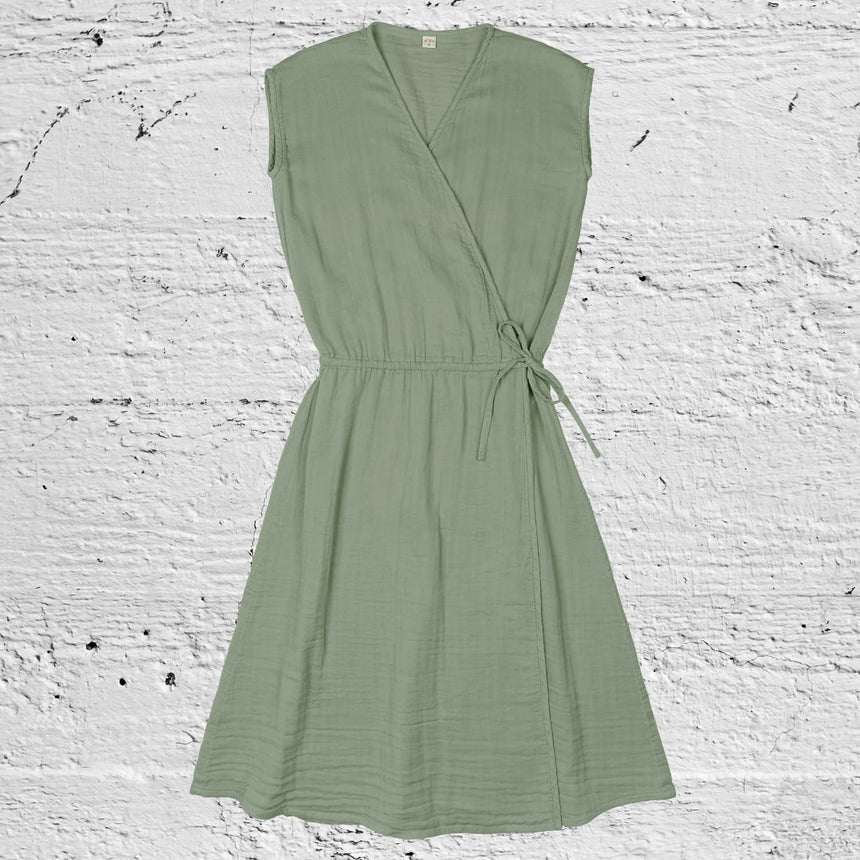 Numero 74 - Grace Dress - Women - Sage Green - S049