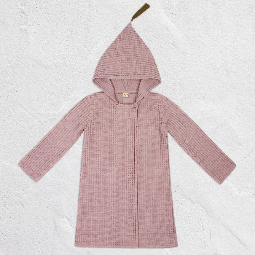Numero 74 - Joy Bathrobe Kid  - Dusty Pink - S007