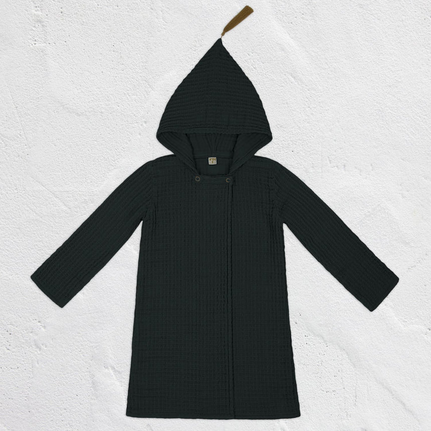 Numero 74 - Joy Bathrobe Kid  - Dark Grey - S021