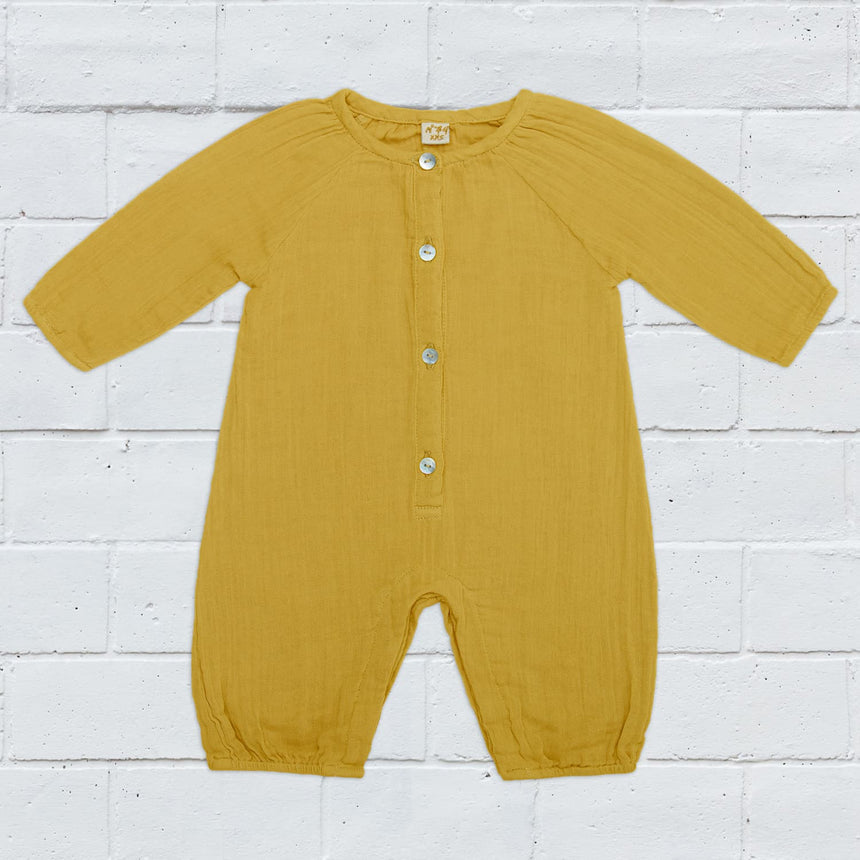 Numero 74 - Zac Suit - Baby - Mellow Yellow - S048
