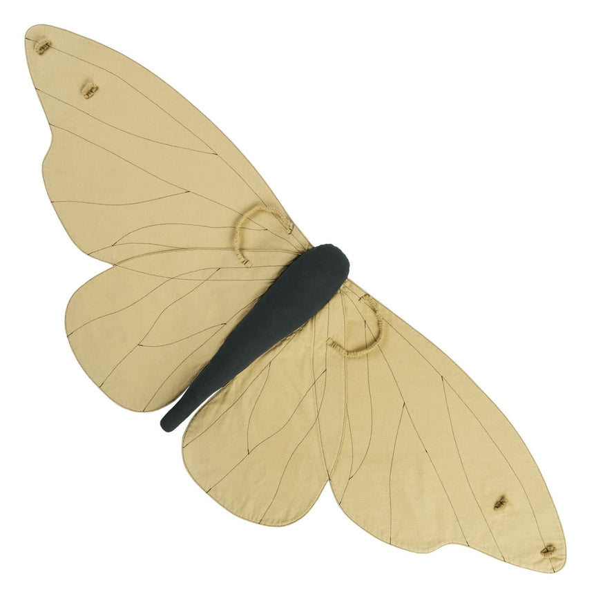 Numero 74 - Lucy Butterfly Wings - Mellow Yellow - S048