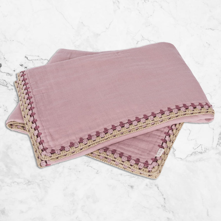 Numero 74 - May Summer Blanket - Dusty Pink - S007