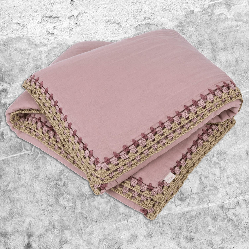 Numero 74 - May Winter Blanket - Dusty Pink - S007