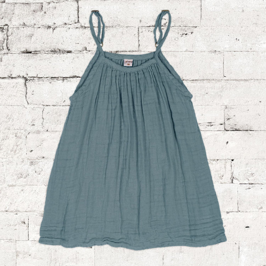Numero 74 - Mia Dress - Kids - Ice Blue - S032