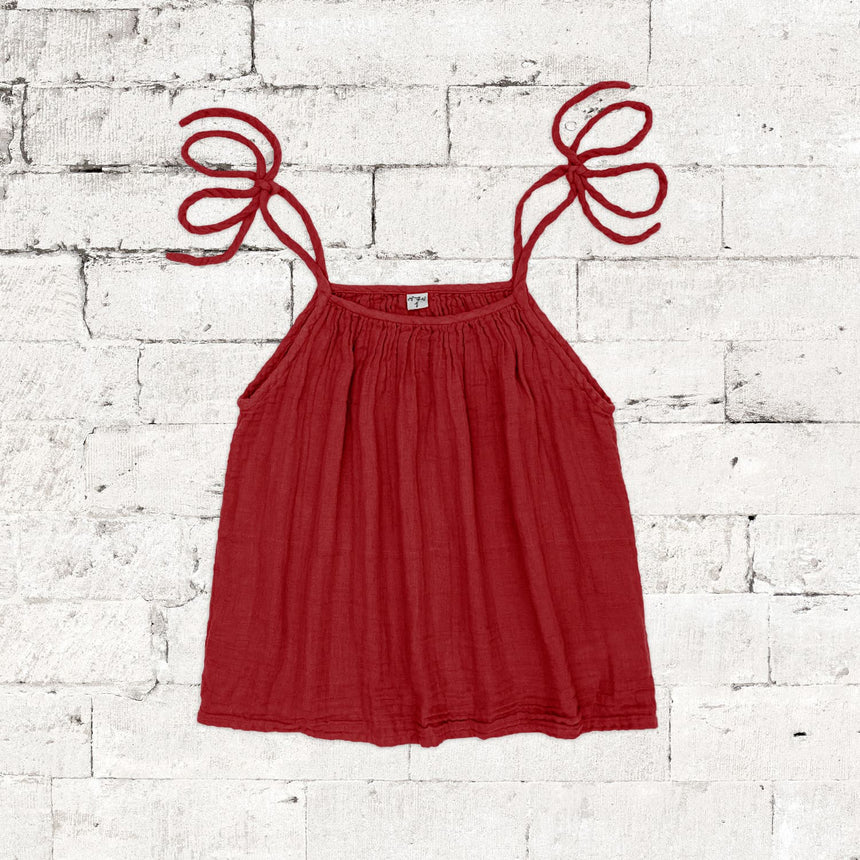 Numero 74 - Mia Top  - Women - Ruby Red - S027