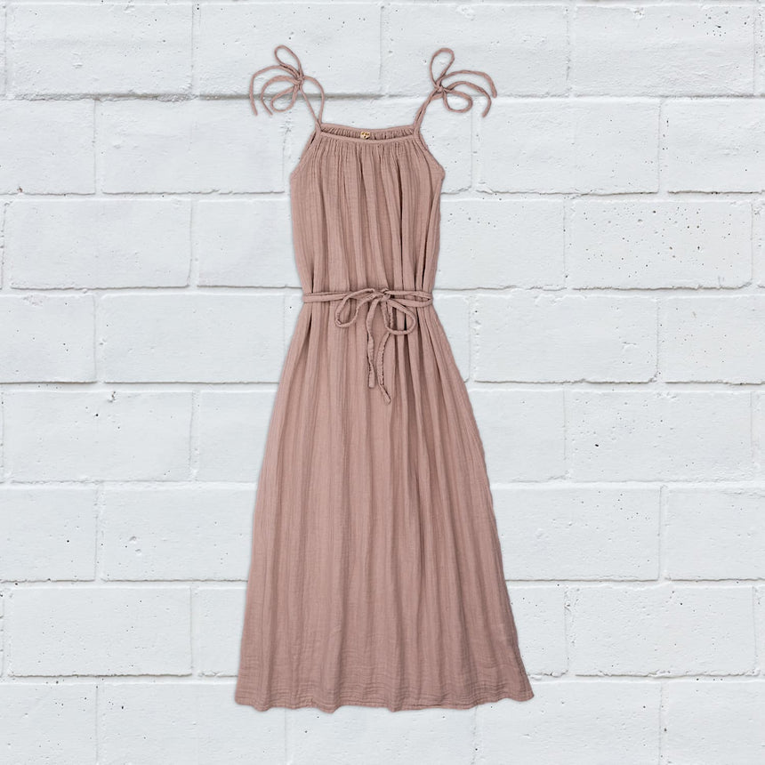 Numero 74 - Mia Long Dress  - Women - Dusty Pink - S007