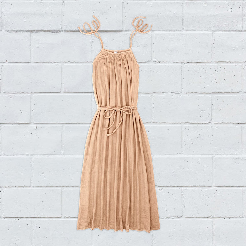 Numero 74 - Mia Long Dress  - Women - Pale Peach - S047