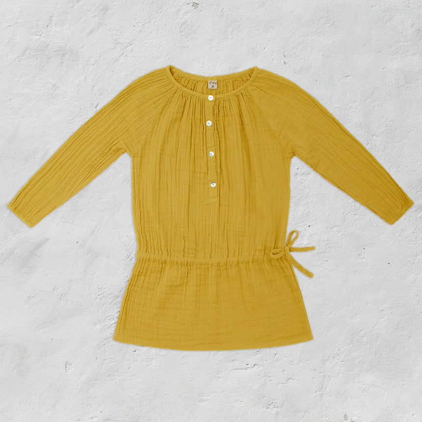 Numero 74 - Naia Dress - Kids - Sunflower Yellow - S028