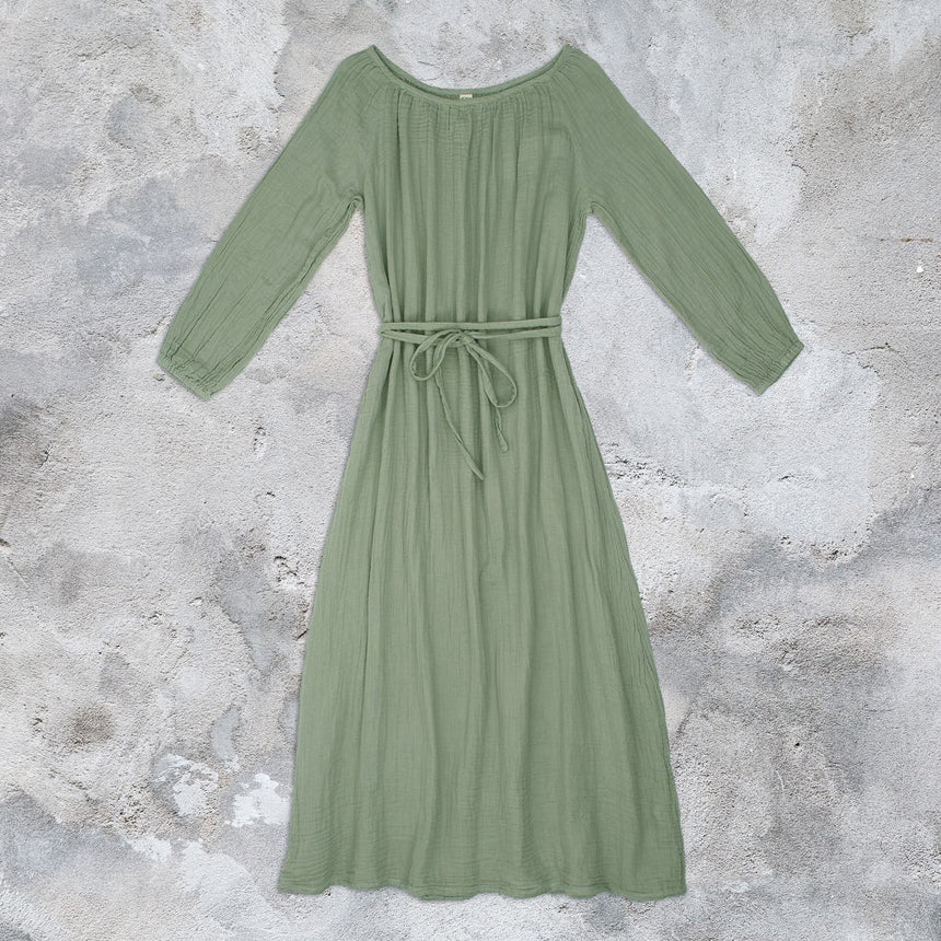 Numero 74 - Nina Long Dress  - Women - Sage Green - S049