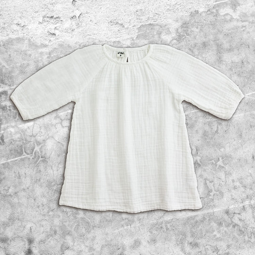 Numero 74 - Nina Dress - Kids - White - S001