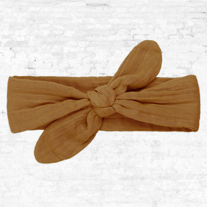 Numero 74 - Romy Bow Headband - Kids - Pale Peach - S047