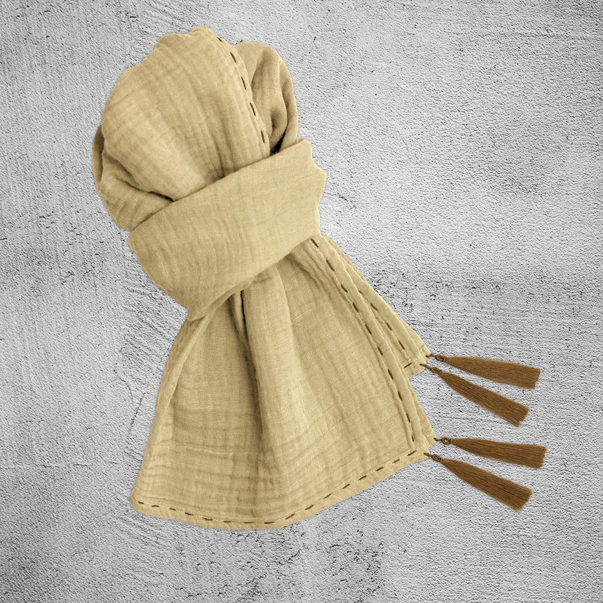 Numero 74 - Scarf Adult  - Mellow Yellow - S048