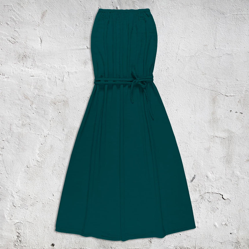 Numero 74 - Sienna Long Dress - Women - Teal Blue - S022