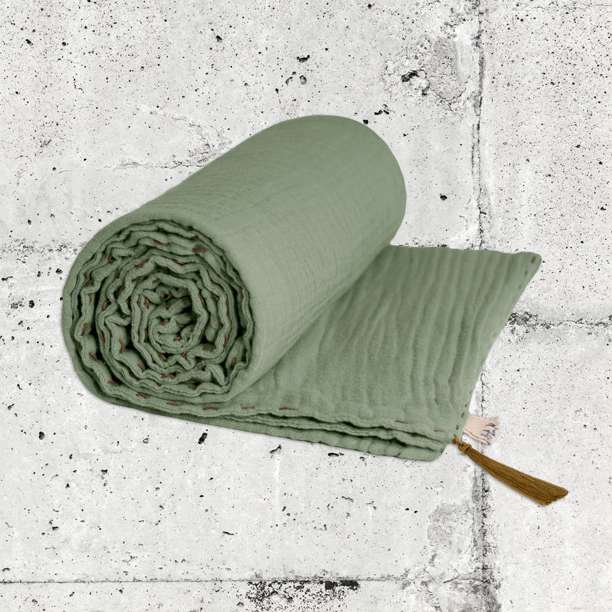 Numero 74 - Summer Blanket - Sage Green - S049