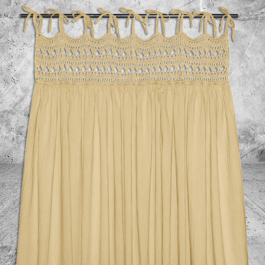 Numero 74 - Tara Curtain - Mellow Yellow - S048