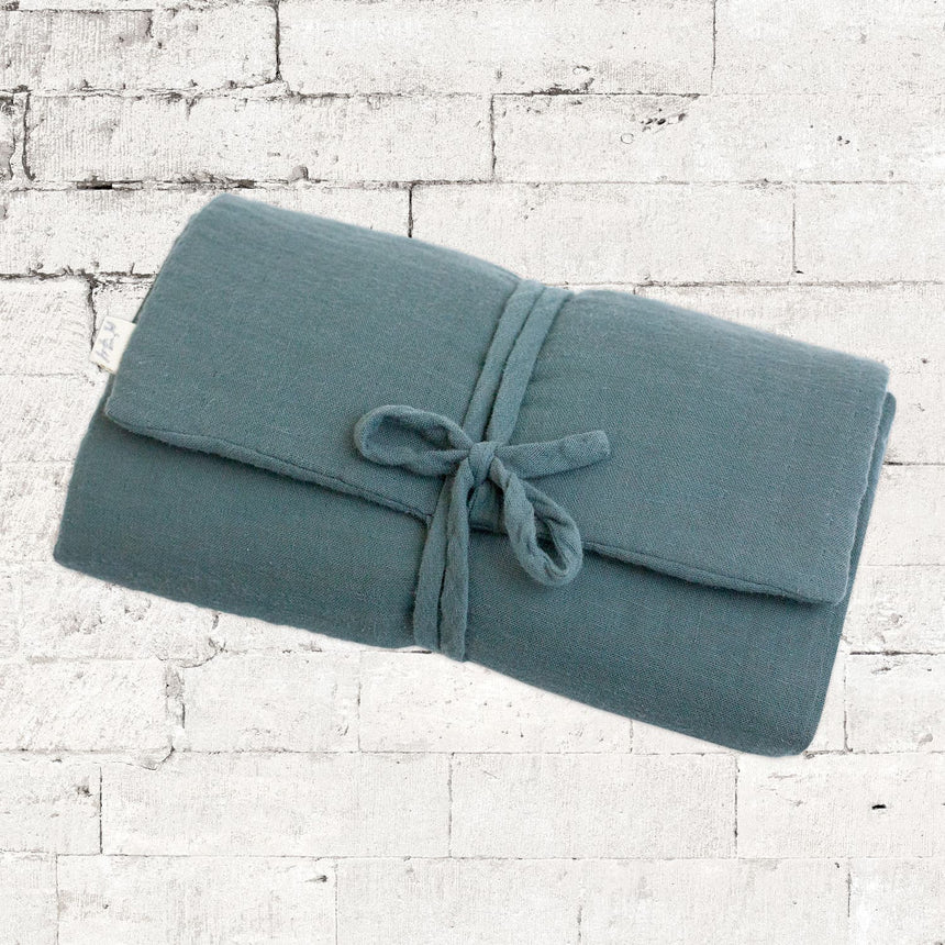 Numero 74 - Travel Changing Pad - Ice Blue - S032