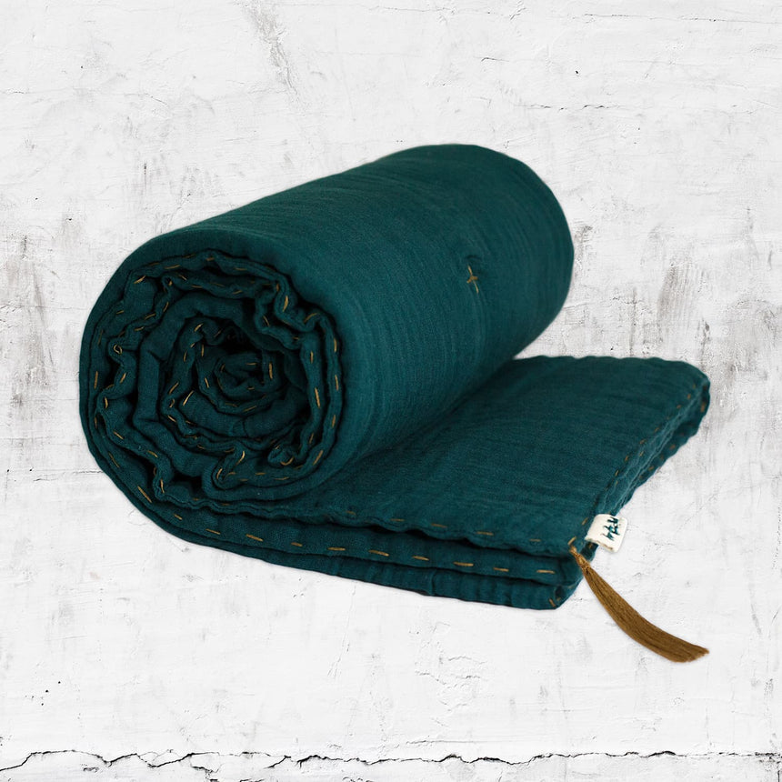 Numero 74 - Winter Blanket - Teal Blue - S022