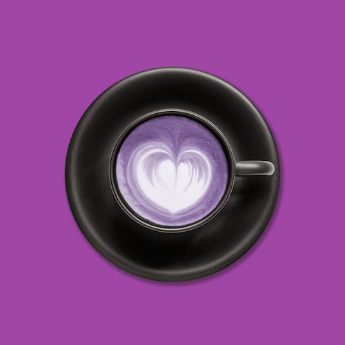 Purple Poet Latte 750g