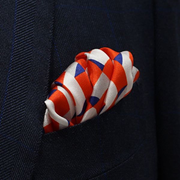 Afternoon Romance-Pocket Square