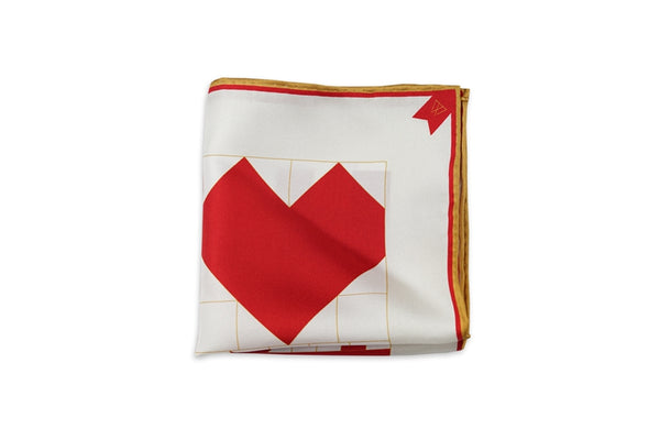 4 in Love-Pocket Square