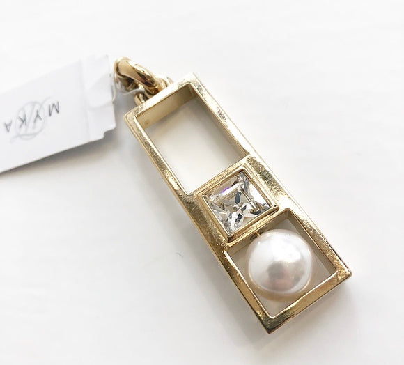 MYKA Modern Pearl Cry Detachable Pendent