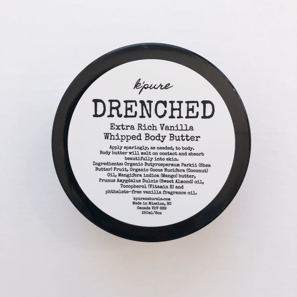 K'PURE DRENCHED FACE + BODY BUTTER