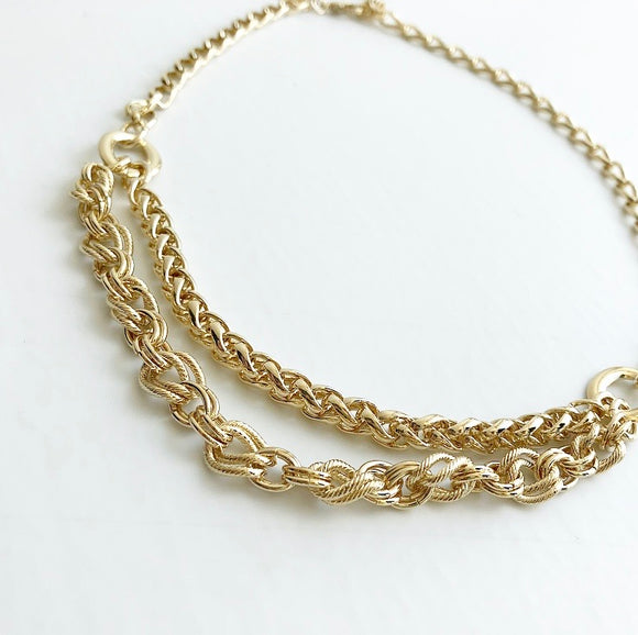 MYKA GOLD 2  CHAIN
