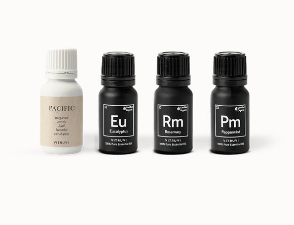 VITRUVI HERBAL ESSENTIAL OIL KIT
