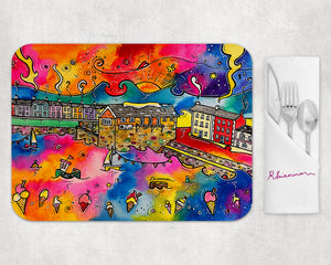 Aberaeron Dreaming of Honey Ice Cream Placemat