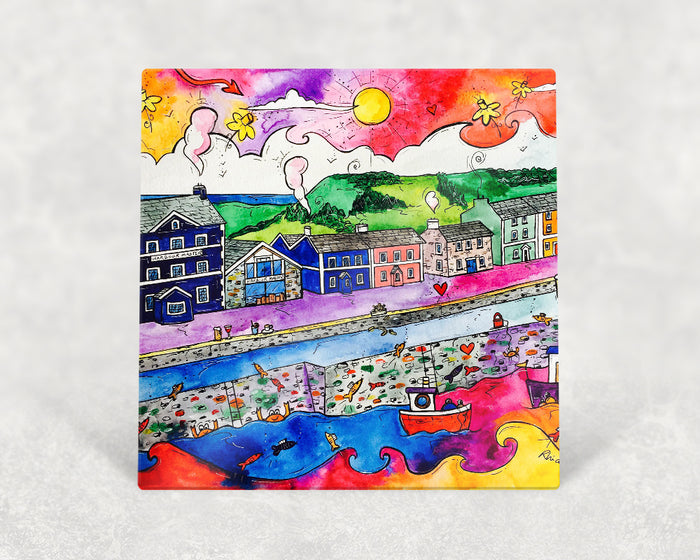 Aberaeron Summer Harbour Card