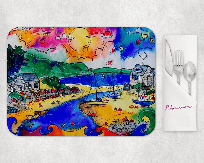 Abersoch Enchanting Harbour Placemat