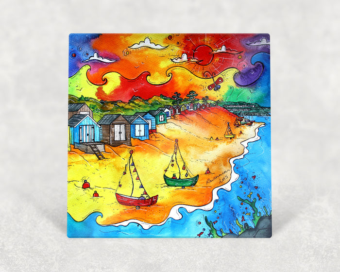 Abersoch Happy Huts Card