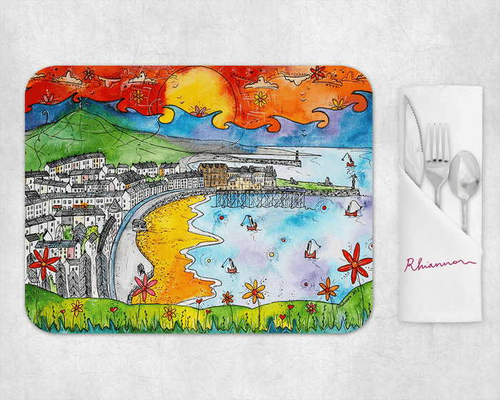 Aberystwyth Sea View Placemat