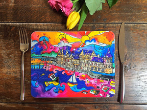 Aberystwyth Whispers of the Old College Placemat